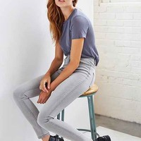 BDG Twig Super High-Rise Jean - Grey Storm- Light Grey
