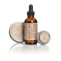 Men's Grooming Kit : High Quality Beard Balm/ Mustache Wax, and Beard Oil