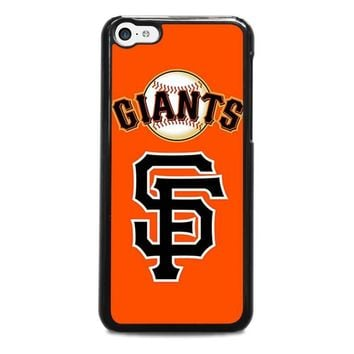 san francisco giants 3 iphone 5c case cover  number 1