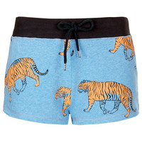 Tiger Print Runner Short - New In This Week - New In - Topshop USA