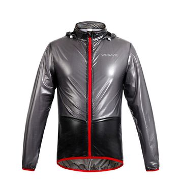 WOSAWE Bicycle Jacket Waterproof Cycling Jersey Cycling Rain Wind Coat Clothing MTB Bike Raincoat Windbreaker