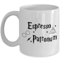 Cool Harry Potter Coffee Mug - Espresso Patronum - Great Gift for Harry Potter Lovers