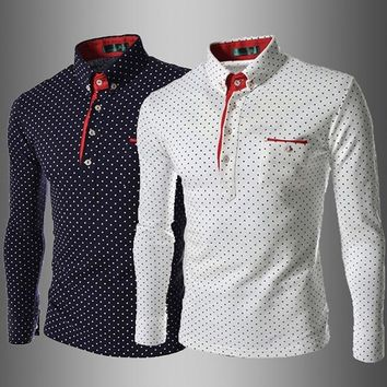 NEW ARRIVALS MODERN GENTLEMAN England Fashion • Tide Rugby Polo Shirt