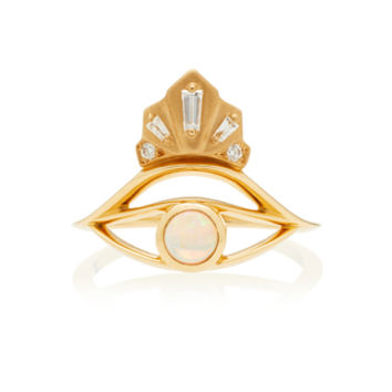 Nomad Opal Eye Ring | Moda Operandi