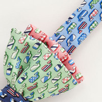 Men's Bow Ties: Derby Silks Bow Tie for Kentucky Derby -Vineyard Vines