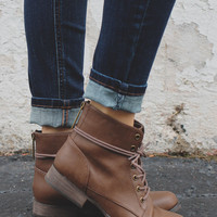 Cadet Booties - Brown
