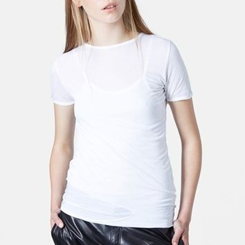 Women's Marques'Almeida for Topshop Layered Tee
