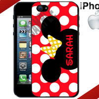 ON SALE - Minnie Mouse iPhone Case - Personalized iPhone Case - iPhone 4 Case or iPhone 5 Case