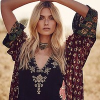 Free People Womens Alana Robe