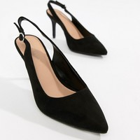New Look Slingback Court Shoe at asos.com