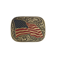 Cody James® Men's American Flag Belt Buckle
