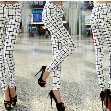 Perfectly Plaid Jeggings
