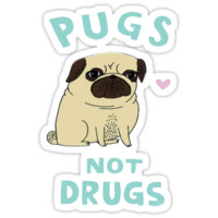 Pugs Not Drugs T-Shirts & Hoodies
