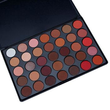 35 Colors Eyeshadow Palette Shimmer Matte Makeup Pallete Women Eyeshadow Matte Pigment Palette Cosmetic Makeup Eye Shadow
