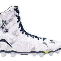 Under Armour Highlight Lacrosse Cleats 2016 - White/Navy | Lacrosse Unlimited