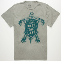 Imperial Motion Live Fast Mens Color Change T-Shirt Grey  In Sizes