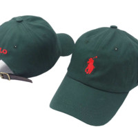 The New Polo Embroidery Green Cotton Baseball Golf Sport Cap