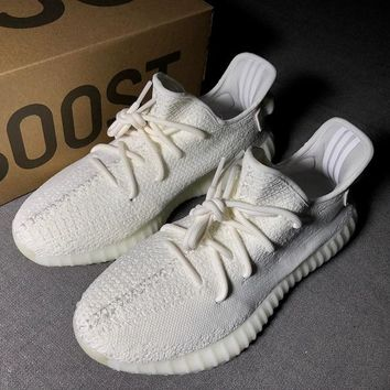 Adidas Yeezy 350V2 All White Real Boost Basf CP9366 54a6c5567883