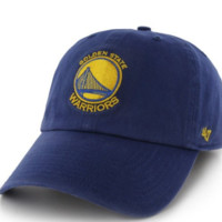 Forty Seven Brand San Francisco Warriors Clean Up Hat In Royal
