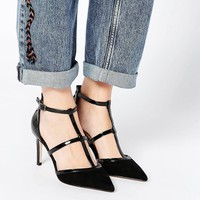 ASOS SWEEP THE BOARD Caged Pointed Heels