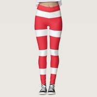 Leggings with flag of Austria