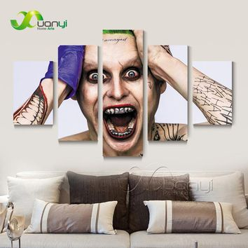 Suicide Squad Joker Jared Canvas Wall Painting Home Decor Modular Wall Pictures For Living Room Modern Print Unframed PR1336