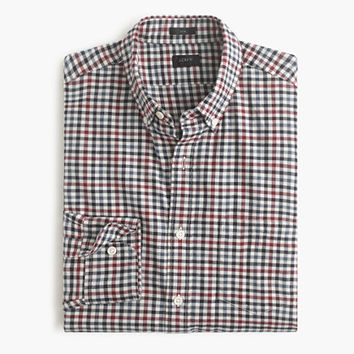 J.Crew Mens Slim Brushed Twill Shirt In District Check