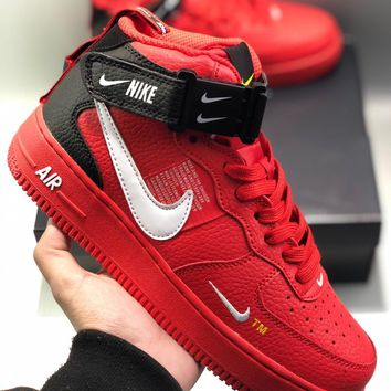Nike AIR FORCE 1MID UTILITY cheap Men's and women's nike shoes