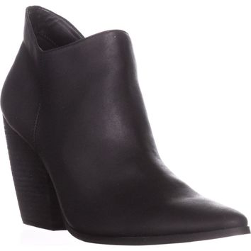 Charles by Charles David Natasha Ankle Boots, Black, 9.5 US