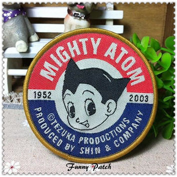 Mighty Atom Iron on Patch 07-H