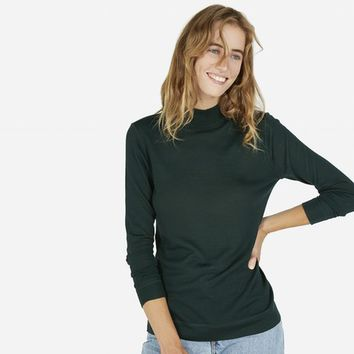 The Luxe Sweater Mockneck