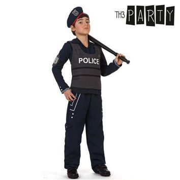 Costume for Children Th3 Party Police officer