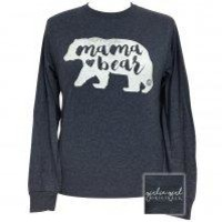 "*Girlie Girl Originals ""Mama Bear"" Long Sleeve T-shirt"