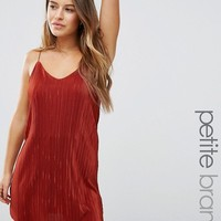 Missguided Petite Pleated Cami Dress at asos.com
