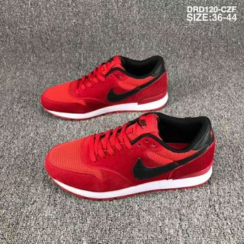 Nike Wmns & Internationalist Waffle series breathable mesh sneakers F-SSRS-CJZX Red