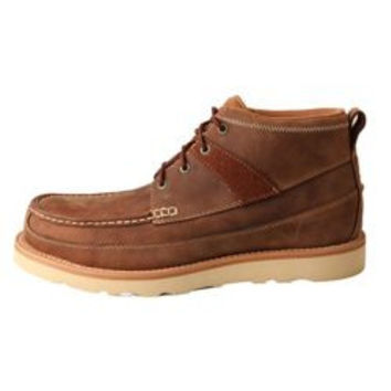 Twisted X Mens Casual Wedge Crepe Sole Boot