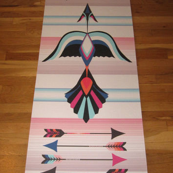 Freebird printed Yoga mat