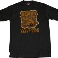 Dukes of Hazzard Boars Nest Good Eats & Cold Beer T-shirt