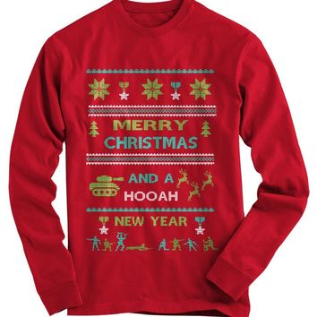 Army Ugly Christmas Sweater
