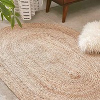 Magical Thinking Oval Jute Rug