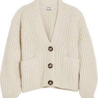 Acne Studios - Hadlee oversized wool-blend cardigan