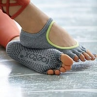 toesox Womens Namaste Yoga Sock
