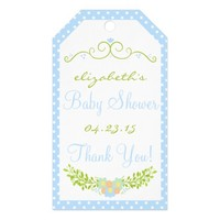 Baby Shower- Floral Pack Of Gift Tags