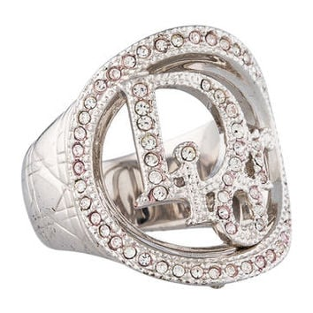 Christian Dior Cannage Logo Ring