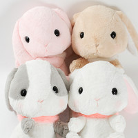 Pote Usa Loppy Fur Collar Plushies (Big)