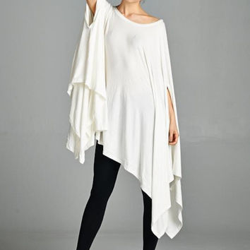 Cape Swing Top in Ivory