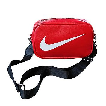 Nike Leather Purse Waist Bag Single-Shoulder Bag Crossbody