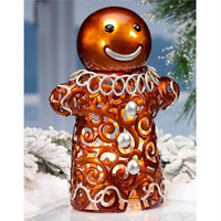 Christmas Luminary Figure - Gingerbread Man