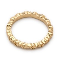Bing Bang Eternity Skull Ring