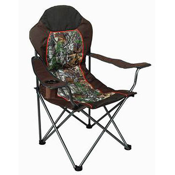 Walmart: Ozark Trail x Realtree Xtra Deluxe High Back Padded Quad Folding Camp Chair